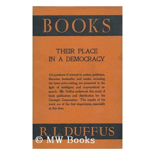 Books: Their place in a democracy,