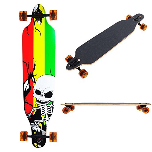 AW Canadian maple Pro Longboard Complete 41x 9.75