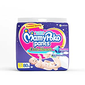 MamyPoko Small Size Pants (80 Count)