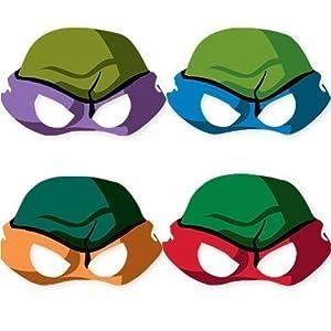 Teenage Mutant Ninja Turtles Paper Masks (8ct)