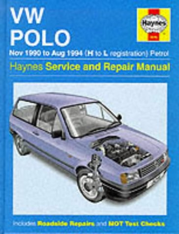 Volkswagen Polo (90-94) Service and Repair Manual (Haynes Service and Repair Manuals)