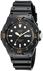 Casio Men's MRW200H-1EV Dive Watch with Black Band