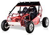 BMS Power Buggy 250 RED Gas 4 Stroke 244cc Recreational Buggy Go Kart thumbnail