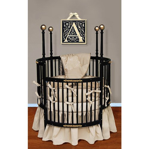 Beautiful Round Crib Bedding Sets Baby Gifts And Reviews