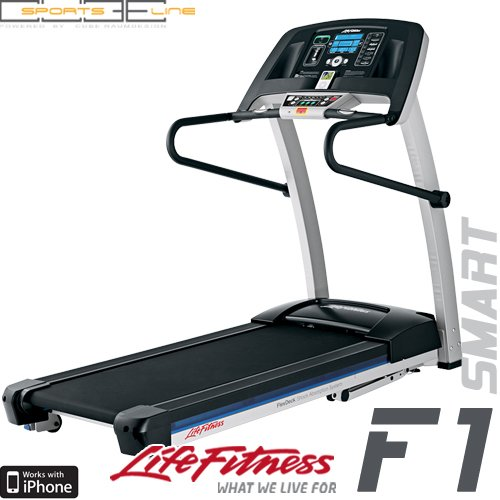 life fitness f1 smart zusammenklappbares laufband neu inkl ipod dock versandkostenfrei. Black Bedroom Furniture Sets. Home Design Ideas