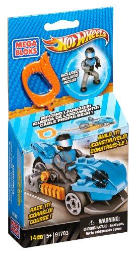 Mega Bloks Hot Wheels Blue Precision Luge