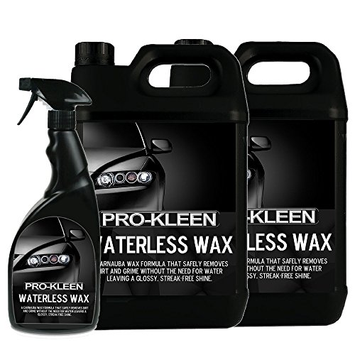 2-x-5-litres-with-750ml-pro-kleen-car-waterless-wash-and-wax-cleaner