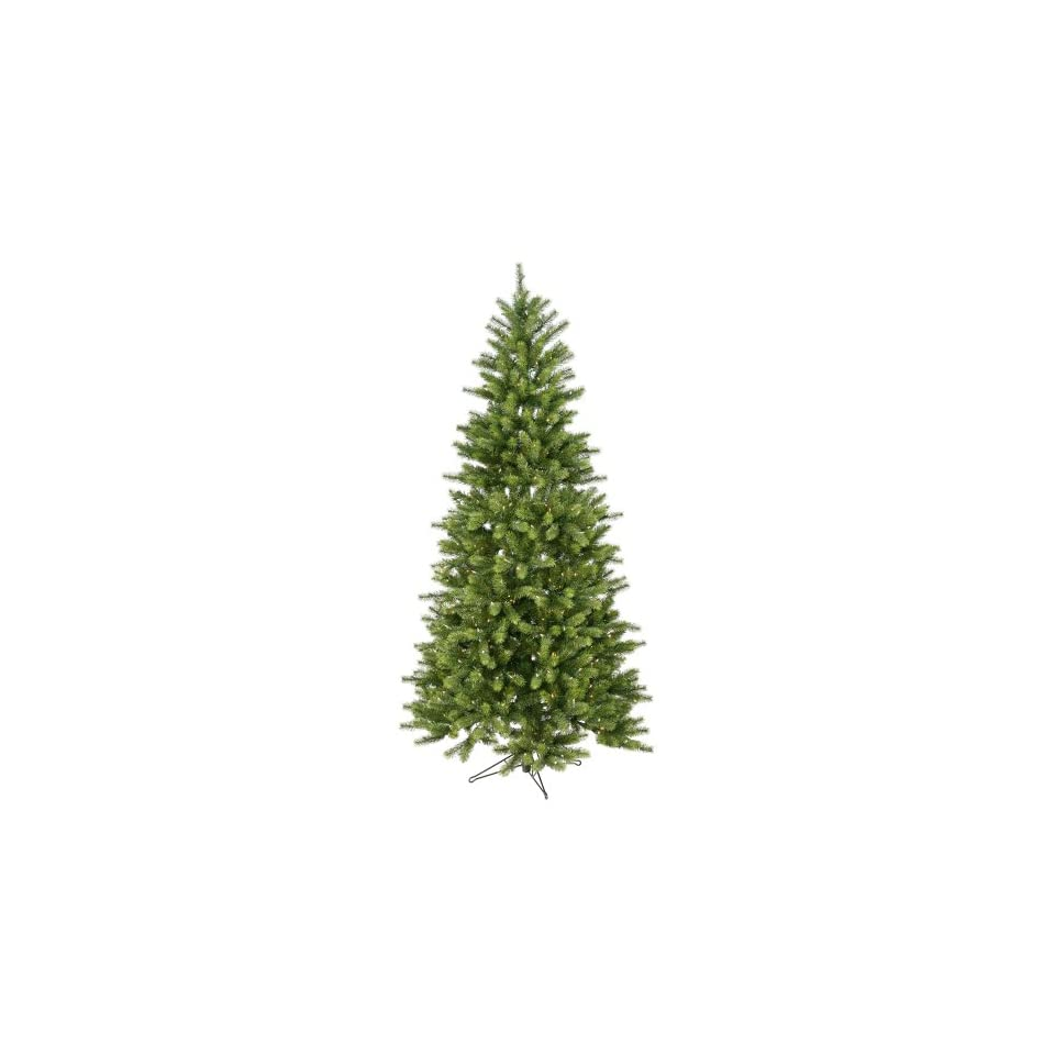 7 Pre Lit Slim Colorado Spruce Artifical Christmas Tree