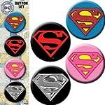 SUPERMAN Assorted gemischtLogos 4 Pie...
