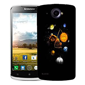 Snoogg Fish Planet Designer Protective Back Case Cover For LENOVO S920