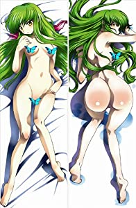 """Bestfyou® Decorative Body Pillow Anime code geass lelouch of the rebellion , 13.4""""*39.4"""" Double-sided Desiqn (The Actual Item No Obstacles)"""