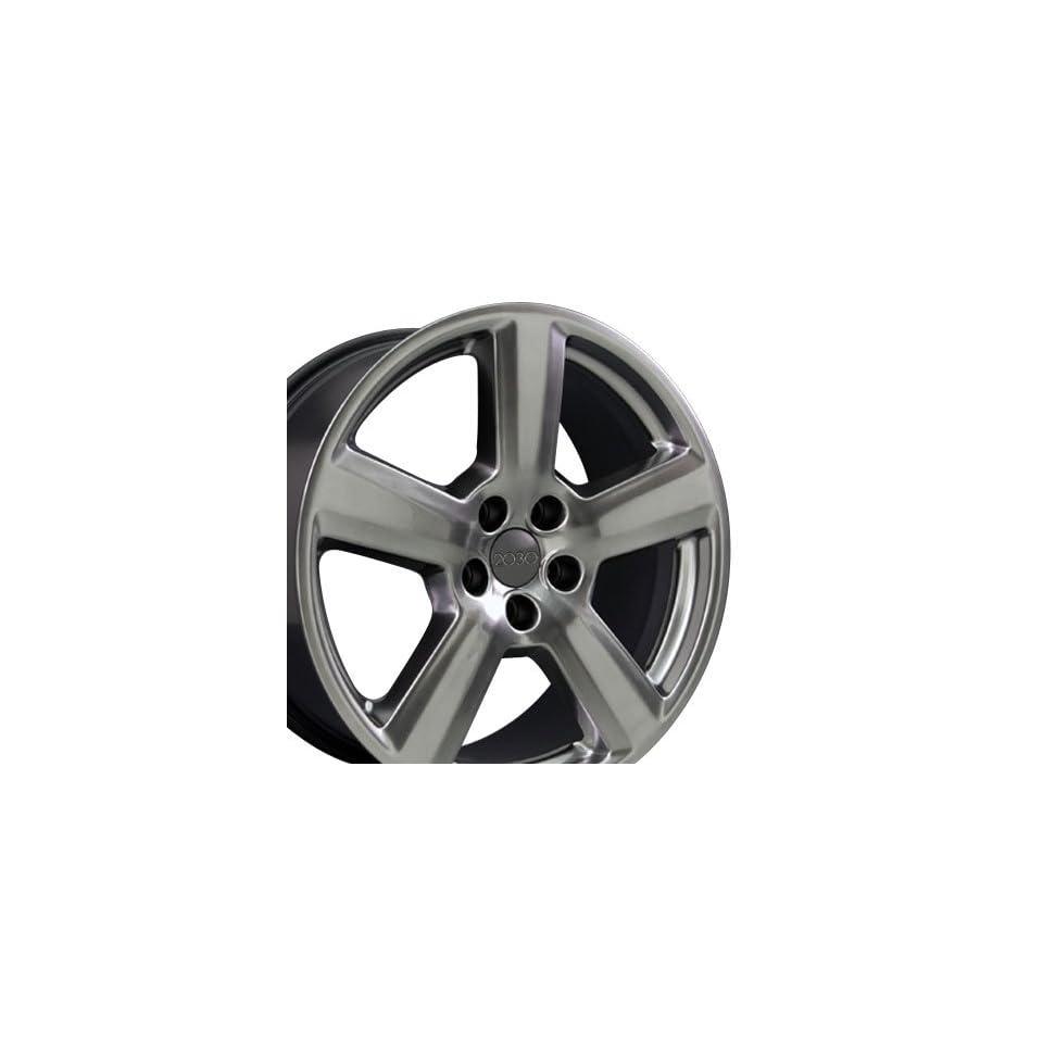 RS6 Style Wheel Fits Audi   Hyper Black 17x7.5