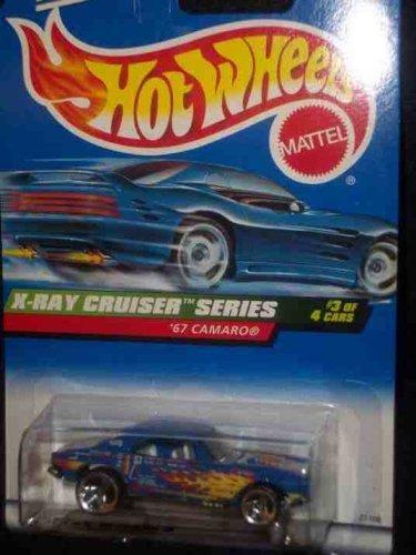 X-Ray Cruiser Series #3 1967 Camaro 3-Spoke #947 Mint 1:64 Scale - 1