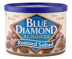 Blue Diamond Almonds, Roasted Salted, 150g