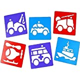 Emergency Services Stencils (Set of 6)