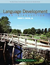 Language Development An Introduction with Enhanced Pearson by Robert E. Owens Jr.