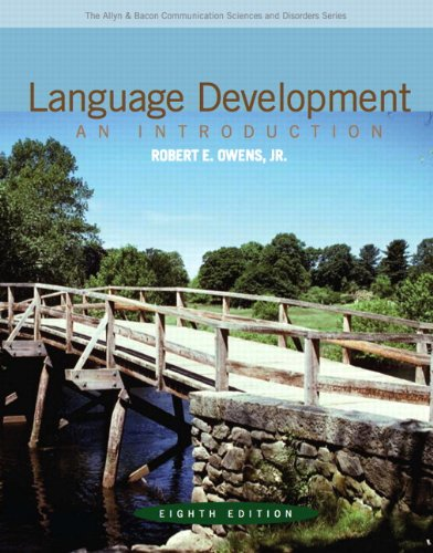 Language Development: An Introduction (8th Edition)...