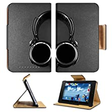 buy Asus Google Nexus 7 1St Generation Flip Case Nice Pair Of Black Headphones Photo 20463113 By Liili Customized Premium Deluxe Pu Leather Generation Accessories Hd Wifi Luxury Protector
