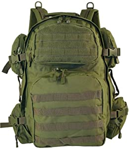 EXPLORER TACTICAL ASSAULT MILITARY BACKPACK (OD Green)