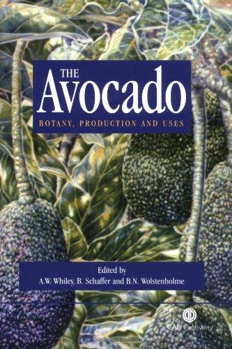 Avocado: Botany, Production and Uses PDF