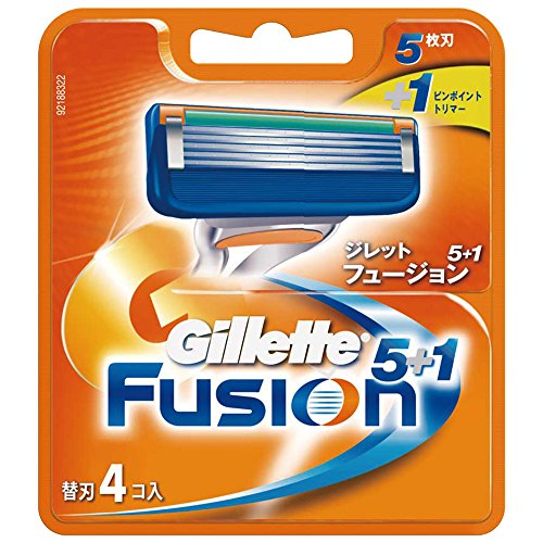 ジレット フュージョン5+1専用替刃 4個入