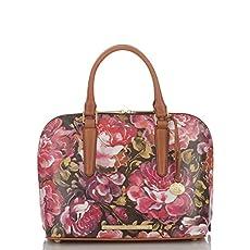 Vivian Dome Satchel<br>Pink Hemingway