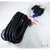 H4 100w Ceramic Fused PnP Heavy Duty Automotive Wiring Harness Headlight Foglight Booster Relay 12v