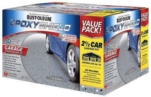 Rust Oleum 261845 50 Voc 2 5 Car Epoxy Shield Garage