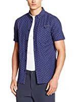 Craghoppers Camisa Hombre Short Sleeved (Azul)