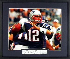 Tom Brady New England Patriots In the Pocket 16x20 Photograph (SGA Signature Series)... by Sports Gallery Authenticated