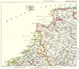 NORTH DEVON & CORNWALL COAST:Bude & Bideford bays Padstow Lundy Island 1893 map