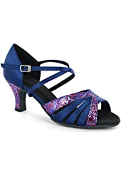 DSOL Women's Latin Dance Shoes D1668
