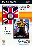 GTA Double Pack: Grand Theft Auto and Grand Theft Auto - London (PC CD)