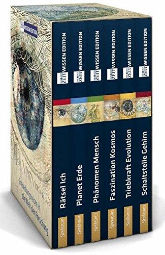 ZEIT WISSEN Edition (Schuber): Entdeckungsreisen in die Welt der Forschung - in sechs Bänden (Rätsel Ich, Planet Erde, Phänomen Mensch, Faszination Kosmos, Triebkraft Evolution, Schaltstelle Gehirn)