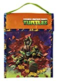 Zak Designs Insulated Lunch Bag with Teenage Mutant Ninja Turtles Graphics, Multicolor