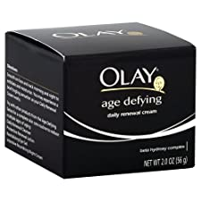 Olay Age Defying Renewal Cream, Daily, 2 oz.