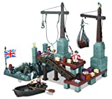 Mega Bloks Pirates of the Caribbean Port Royale Playset