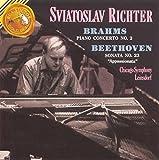 """Brahms: Piano Concerto No. 2; Beethoven: Sonata No. 23 in F Minor  """"Appassionata"""""""