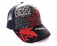 NEW EVA 新世紀エヴァンゲリオン ハット 帽子/キャップ NERV ネルフ 黒