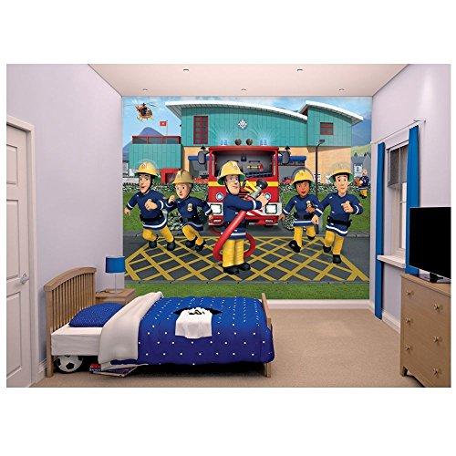 sam-le-pompier-fireman-sam-walltastic-peinture-murale-image-de-fond-decran-mural-de-photos-244-x-305