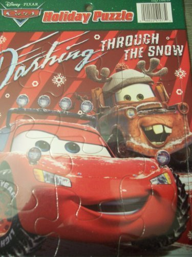 Disney Pixar Cars Holiday Puzzle: Dashing Through the Snow (12 Pieces)