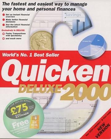Quicken 2000 Deluxe & FREE Motley Fool Online Trading Book