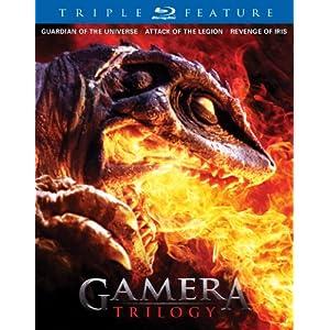 Gamera Trilogy Blu-ray