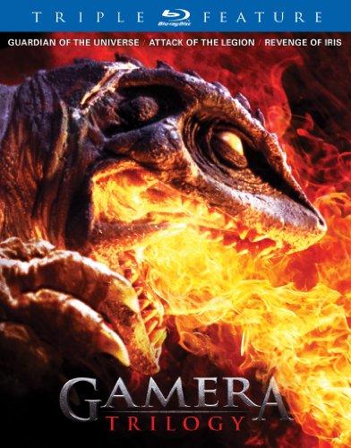 【BD-BOX】ガメラ トリロジー 平成版ガメラ3部作収録(2枚組) 北米版(ブルーレイ)(PS3再生、日本語音声OK)