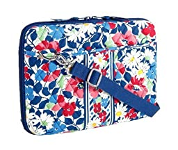 Vera Bradley Mini Laptop Case in Summer Cottage