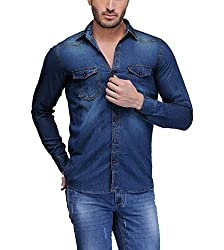 Feed Up Men's Denim Shirt