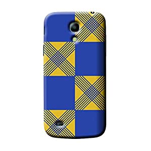 Garmor African Pattern Design Plastic Backcover for Samsung I9190 Galaxy S4 mini- (African 2)