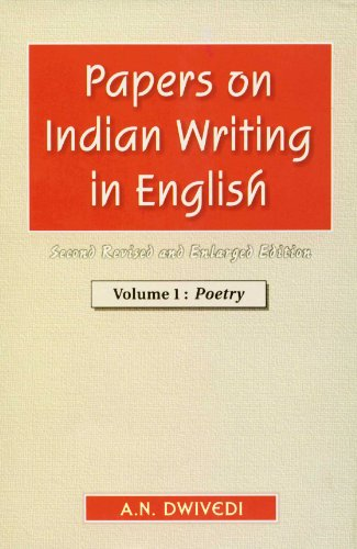 Papers on Indian Writing in English: Poetry: v. 1