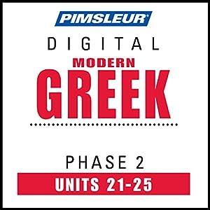 Greek (Modern) Phase 2, Unit 21-25 Audiobook
