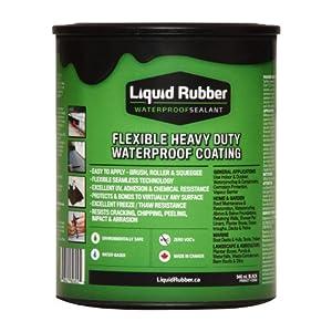 Liquid Rubber Waterproof Sealant 1 Quart Can Amazon Com